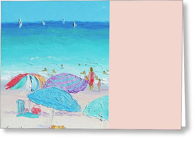 Summer Scene Greeting Cards - Summer Greeting Card by Jan Matson