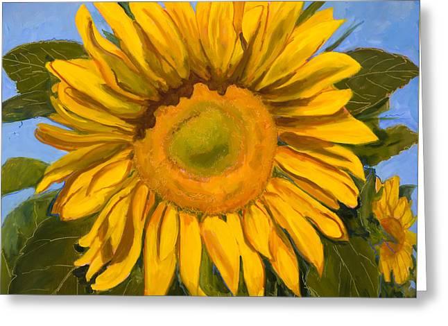 Summer Joy Greeting Card by Billie Colson