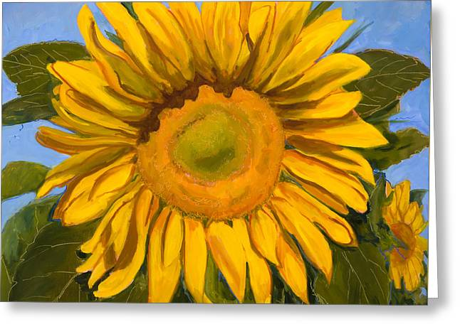 Loveland Artist Greeting Cards - Summer Joy Greeting Card by Billie Colson
