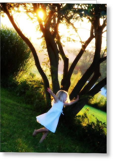 Cheryl Helms Greeting Cards - Summer Joy Greeting Card by Cheryl Helms