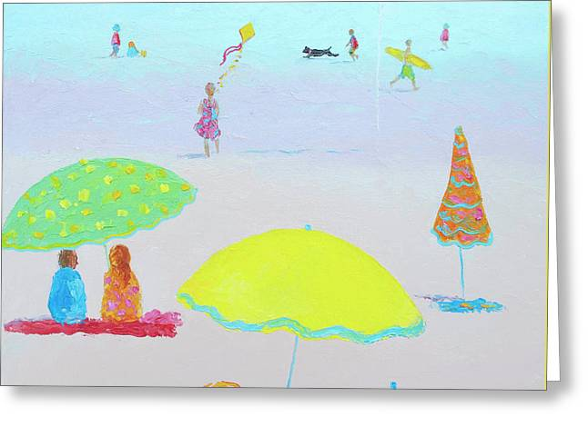 Summer Scene Greeting Cards - Summer Magic II Greeting Card by Jan Matson