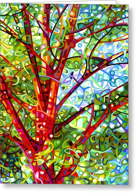 Colorist Greeting Cards - Summer Medley Greeting Card by Mandy Budan