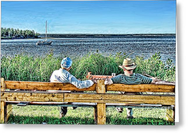 Summer Memories Greeting Card by Patricia L Davidson