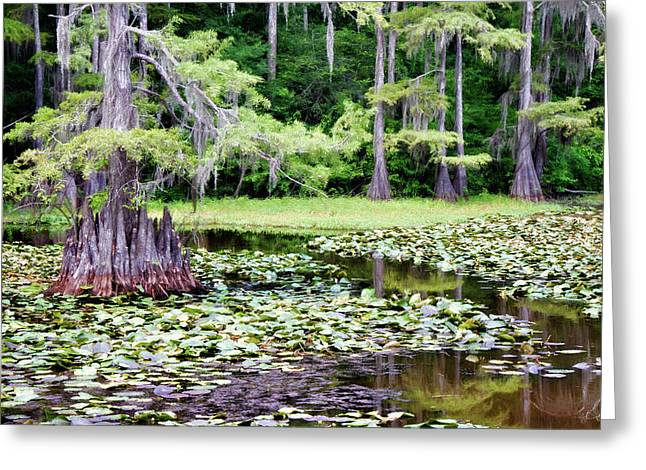 Saw Greeting Cards - Summer Mill Greeting Card by Lana Trussell