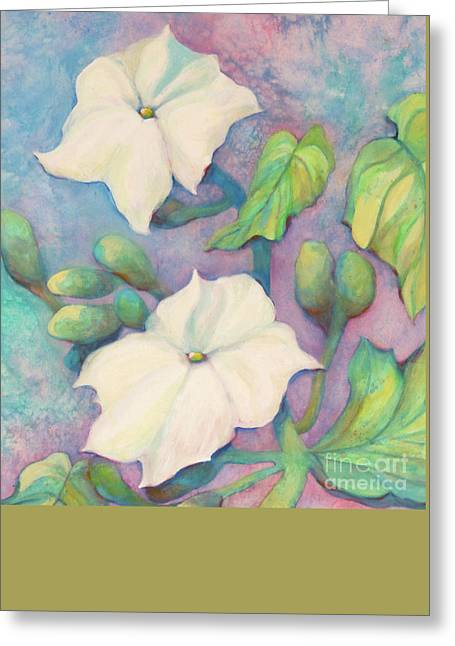 Water Fowl Greeting Cards - Summer Morning Glories Greeting Card by Sharon Nelson-Bianco