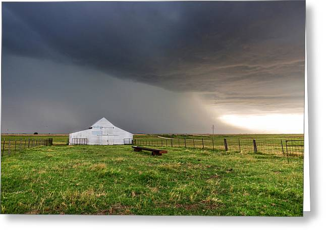 Summer Storm Greeting Cards - Summer of Rain Greeting Card by Sean Ramsey
