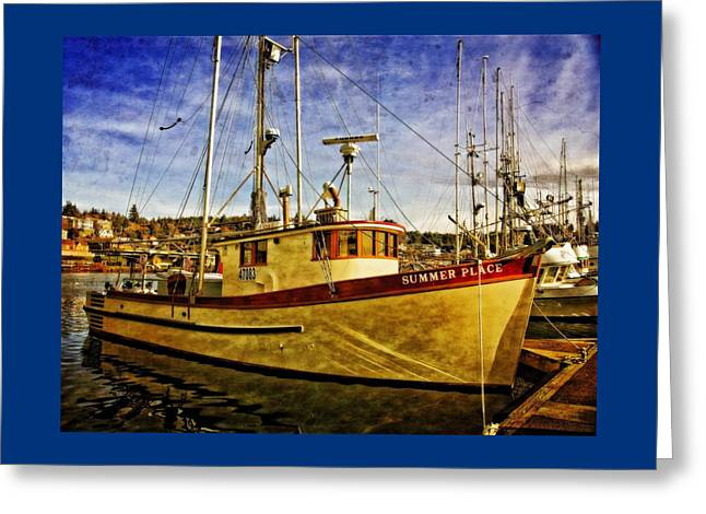 Summer Place Greeting Card by Thom Zehrfeld
