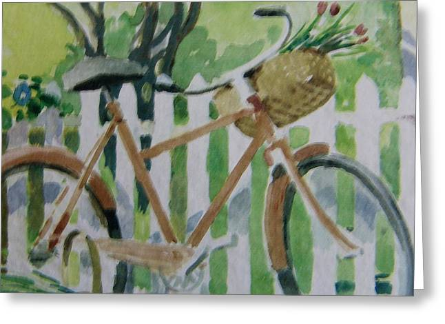 Summer Ride Greeting Card by Florene Welebny