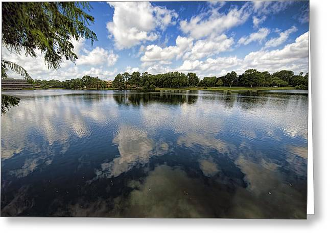 Jacksonville Greeting Cards - Summer Skies Greeting Card by Anthony Baatz