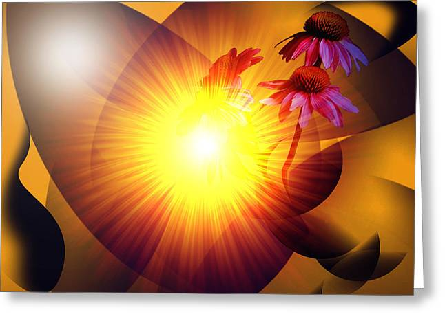 Summer Solstice II Greeting Card by Patricia Motley