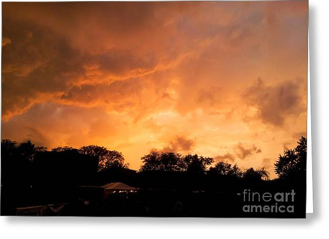 Summer Storm Greeting Cards - Summer Storm Greeting Card by Lisa Richards