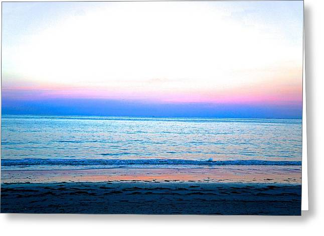 Beach Photography Greeting Cards - Summer Sunset Greeting Card by Brian Paterson