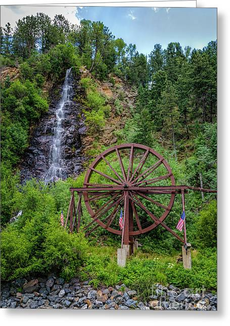 Summer Water Wheel Greeting Card by Jon Burch Photography