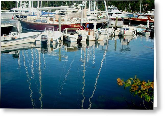 Schooner Greeting Cards - Summer Greeting Card by Yvonne Breen