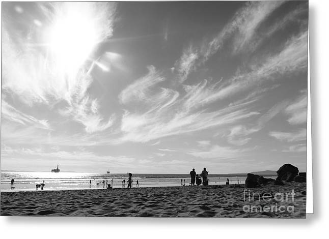 Best Sellers -  - Surf City Greeting Cards - Summers Sky Greeting Card by Leah McPhail