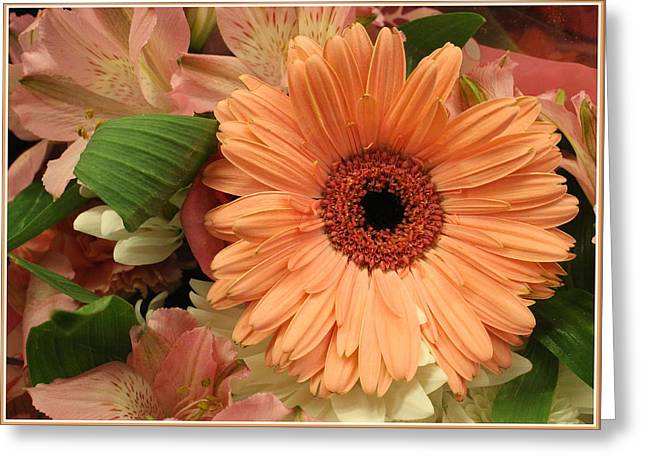 Nature Center Greeting Cards - Summertime Bouquet Greeting Card by  Photographic Art and Design by Dora Sofia Caputo