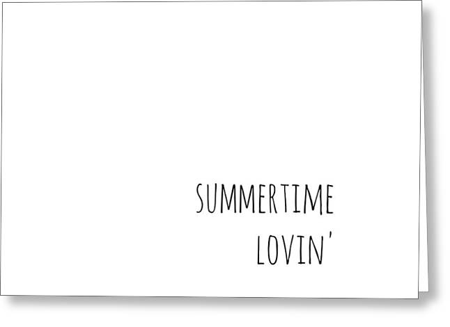 Summertime Lovin Greeting Card by Chastity Hoff