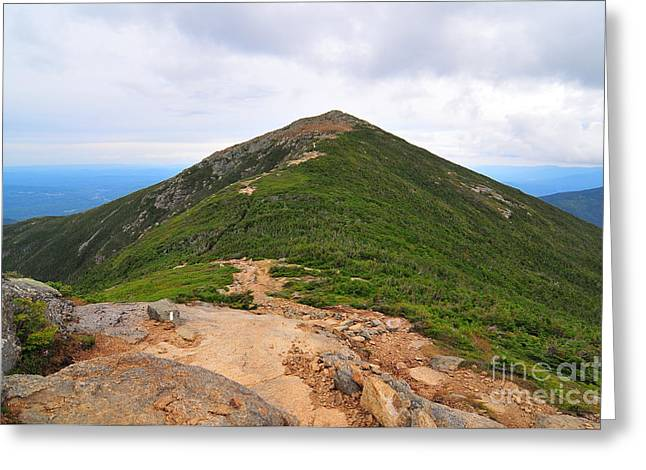 Summit Of Mount Lafayette Greeting Card by Catherine Reusch  Daley