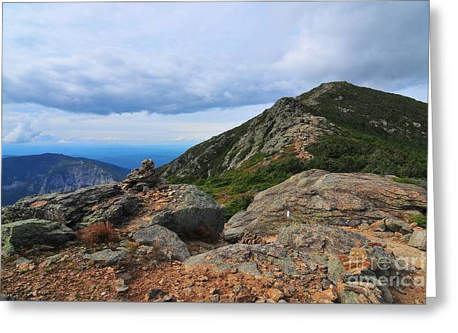Summit Of Mount Lincoln Greeting Card by Catherine Reusch  Daley