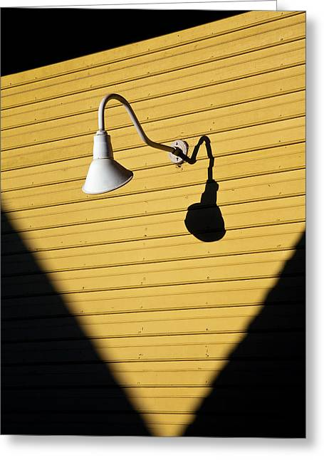 Lamp Greeting Cards - Sun Lamp Greeting Card by Dave Bowman