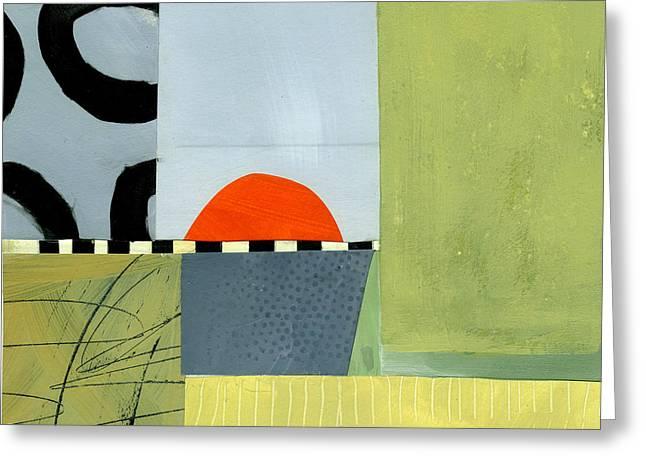 Sun Set  Greeting Card by Jane Davies