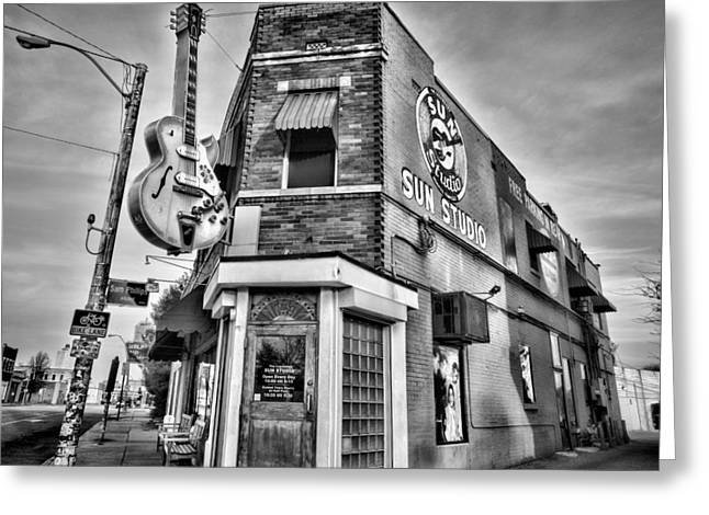 Sun Studio - Memphis #2 Greeting Card by Stephen Stookey