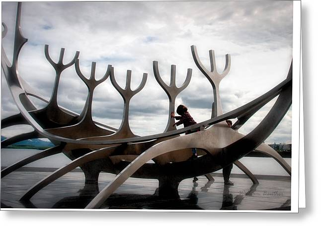 Sun Voyager Greeting Card by William Beuther