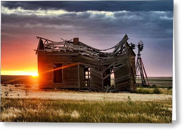 Artistic Photography Greeting Cards - Sunbeam Light Greeting Card by Clarice  Lakota