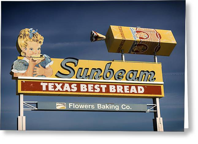Loaf Of Bread Greeting Cards - Sunbeam - Texas Best Bread Greeting Card by Mountain Dreams