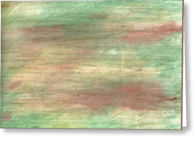 Treasures Pastels Greeting Cards - Sunken Treasure Greeting Card by Corinne Elizabeth Cowherd