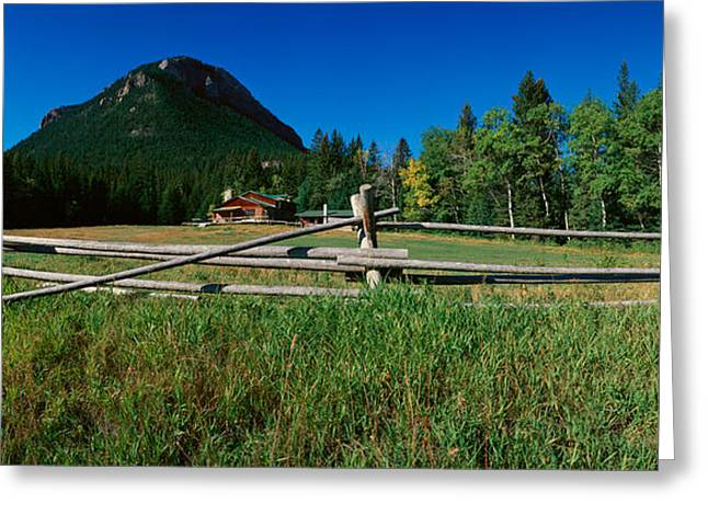 Sunlight Valley, Wyoming Greeting Card by Panoramic Images