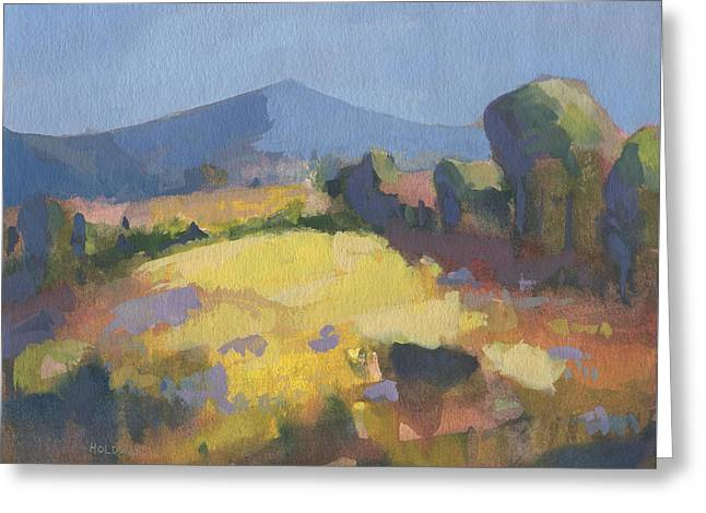 Sunlit Greeting Card by John Holdway