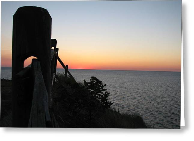 Gurnet Light Greeting Cards - Sunrise Anticipation  Greeting Card by Brian Mazzoli