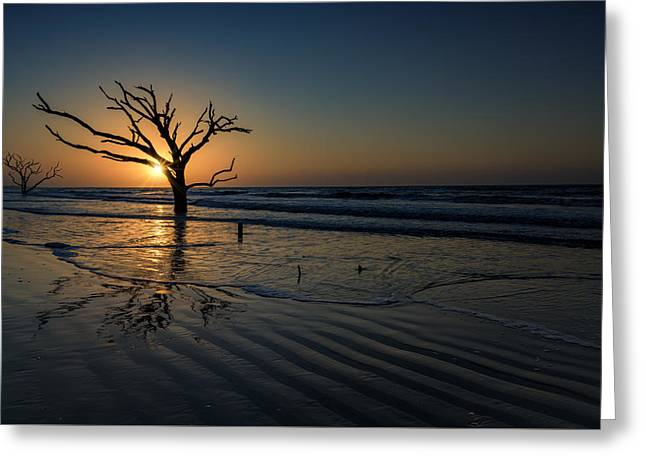 Sunrise At Botany Bay Greeting Card by Rick Berk