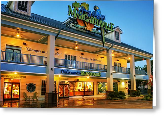 Sunrise At Margaritaville Greeting Card by Greg Mimbs
