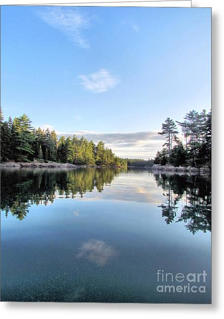 Somes Sound Greeting Cards - Sunrise at MDC Greeting Card by Elizabeth Dow