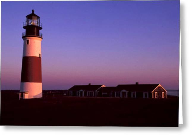 The Houses Greeting Cards - Sunrise at Sankaty Head Nantucket Greeting Card by Joy McKenzie