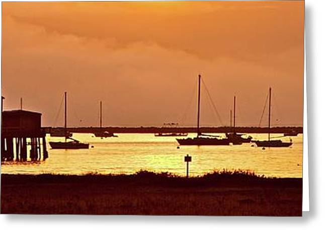 Half Moon Bay Greeting Cards - Sunrise Half Moon Bay California Greeting Card by Gus McCrea