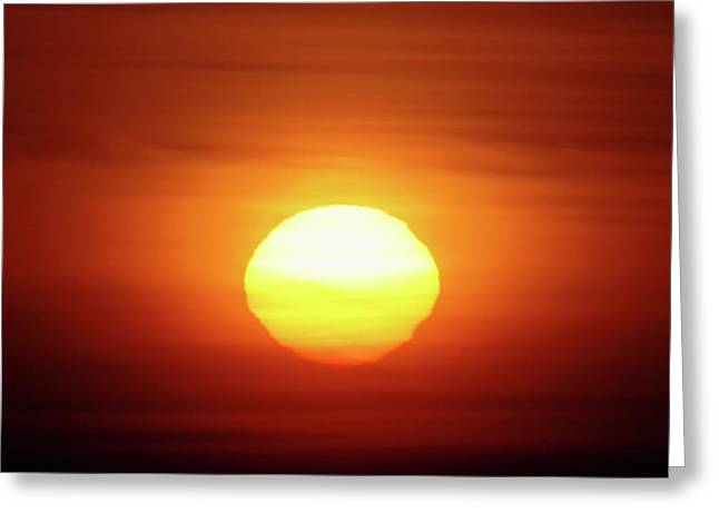 Othello Greeting Cards - Sunrise In Othello  Greeting Card by Jeff  Swan
