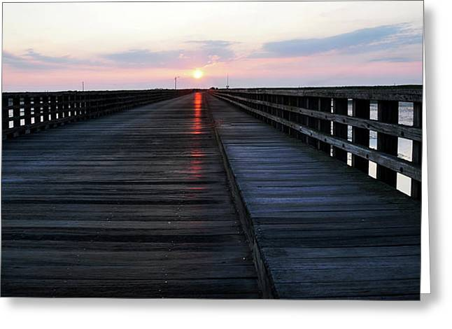 Duxbury Greeting Cards - Sunrise Greeting Card by Joanne Brown