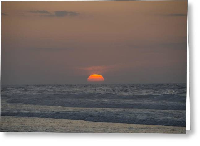 Bill Cannon Photography Greeting Cards - Sunrise on the Sea Greeting Card by Bill Cannon