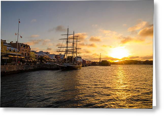 March Greeting Cards - Sunrise over Lord Nelson Greeting Card by Jeff at JSJ Photography