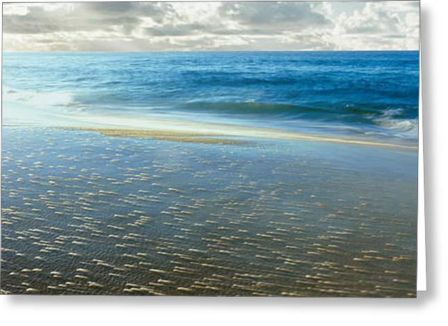 Sunrise Over Pacific Ocean, Lands End Greeting Card by Panoramic Images