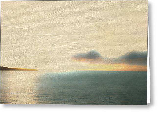 Frank Ocean Art Greeting Cards - Sunrise Over St. Thomas Greeting Card by Frank Bright