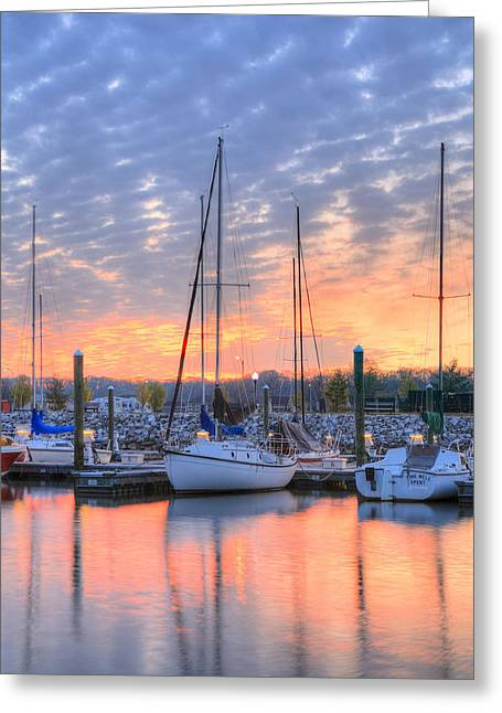 Alexandria Greeting Cards - Sunrise Splendor Greeting Card by JC Findley