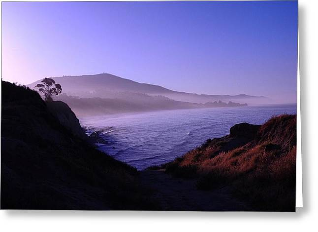 Rincon Greeting Cards - Sunrise Spray Greeting Card by Beth Cox