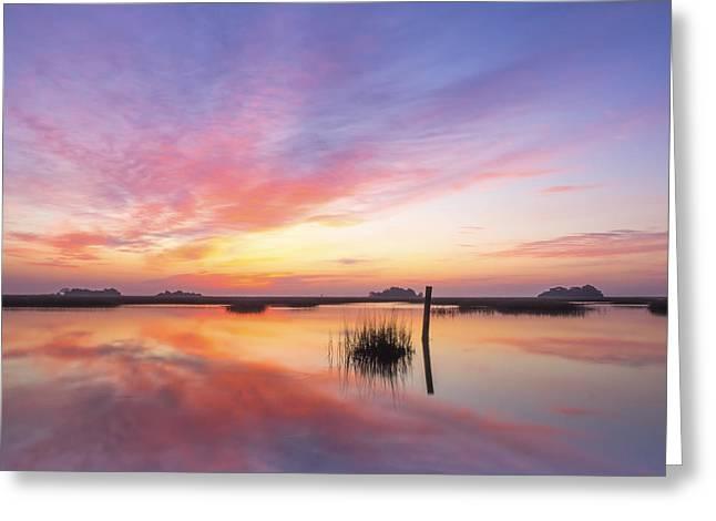 Award Greeting Cards - Sunrise Sunset Art Photo - I Belong Greeting Card by Jo Ann Tomaselli