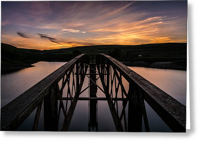 Exposure Greeting Cards - Sunset At Blue Lagoon. Greeting Card by Daniel Kay