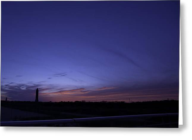 Organe Greeting Cards - Sunset at Jones Beach Greeting Card by Ellie  Kahana