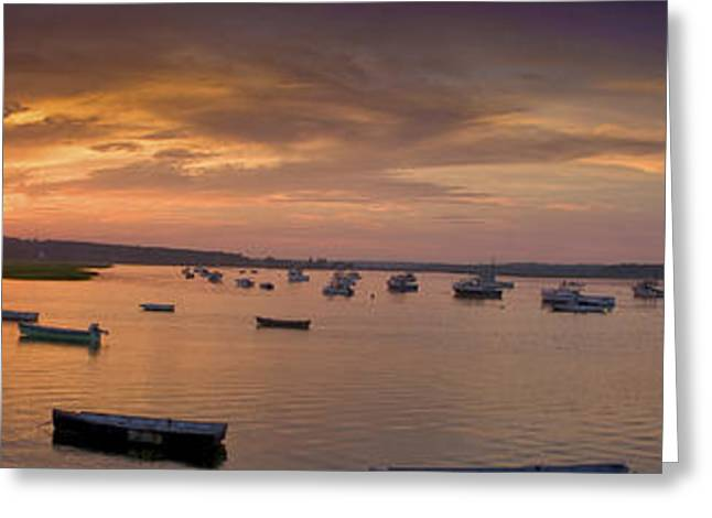Maine Beach Greeting Cards - Sunset at Pine Point Greeting Card by David Bishop